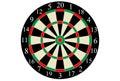 Vector dart board Royalty Free Stock Photo