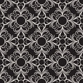Vector decorative floral seamless pattern abstract stylish background Royalty Free Stock Image