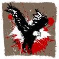 Vector del diseño del águila Foto de archivo libre de regalías