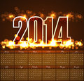 Vector Design Calendar 2014 Te...