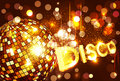 Vector disco background Stock Images