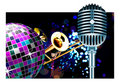Vector disco ball Royalty Free Stock Image