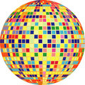 Vector disco ball Stock Images