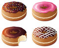 Vector donuts Stock Image