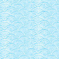 Vector doodle circle water texture vertical seamless pattern background Royalty Free Stock Photo
