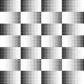 Vector dots halftone. Black dots on white background. texture round.