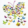 Vector dream butterfly Royalty Free Stock Photo