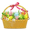 Vector Easter Basket
