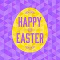 Vector Easter egg hunt background