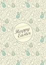 Vector easter illustration which can be used as postcard poster Royalty Free Stock Photography