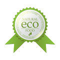 Vector ECO badge Royalty Free Stock Images