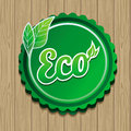 Vector eco label Royalty Free Stock Photos