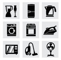 Vector electronics icon set this is file of eps format Royalty Free Stock Photo