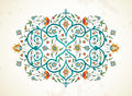 Vector element, ornament in Eastern style.