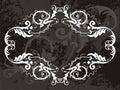 Vector emblem  Royalty Free Stock Photography