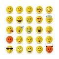 Vector emoji set