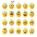Vector emoticon emotion emotions feelings Stock Photo
