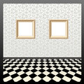Vector empty frames Stock Image