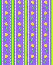 Vector Eps 8 Striped Purple Wallpaper Pattern with Stock Photos