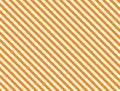 Vector EPS8 Diagonal Striped Background in Orange Royalty Free Stock Photo