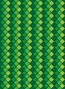 Vector Eps8, Green Variegated Diamond Pattern Royalty Free Stock Images