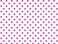 Vector Eps8  White Background with Pink Polka Dots Royalty Free Stock Photo