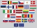Vektor Evropská unie vlajky