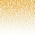 Vector falling stars halftone background. Golden Falling stars design template Royalty Free Stock Photo