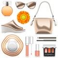 Vector Fashion Accessories Set 6