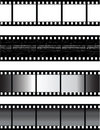 Vector filmstrip Stock Photos