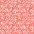 Vector fish scale style floral pattern texture