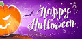 Vector flat halloween card, advertisement, banner, poster, placard, party invitation, flayer design.