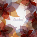 Vector floral background Royalty Free Stock Photos