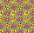Vector floral background pattern vintage Royalty Free Stock Image
