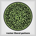 Vector floral pattern Stock Photography