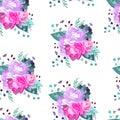 Vector floral pattern. Summer,spring,celebration design.