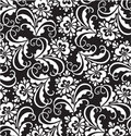 Vector floral patterns Royalty Free Stock Photography