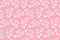 Vector flower seamless pattern background. Elegant texture for backgrounds. 3D elements with shadows and highlights.