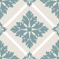Vector flower seamless pattern element. Elegant texture for backgrounds.