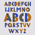 Vector of font and alphabet