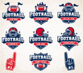 Vector Football logos and insignias