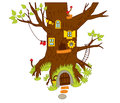 Vector Forest House, Woodland Magic House, Fairy House