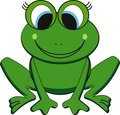 Vector frog Stock Photos