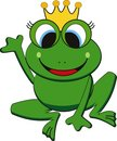 Vector frog Royalty Free Stock Photography