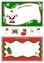 Vector of funds for Christmas Royalty Free Stock Images
