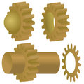 Vector Gears Stock Photo