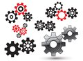 Vector gears Royalty Free Stock Photos