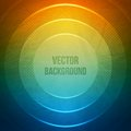 Vector geometric background grunge background with circles retro illustration this is file of eps format Stock Photos
