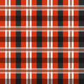 Vector geometric color pattern background illustration of in black and red lines and rectangles Stock Photos