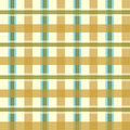 Vector geometric color pattern background illustration of in blue and yellow lines and rectangles Stock Images
